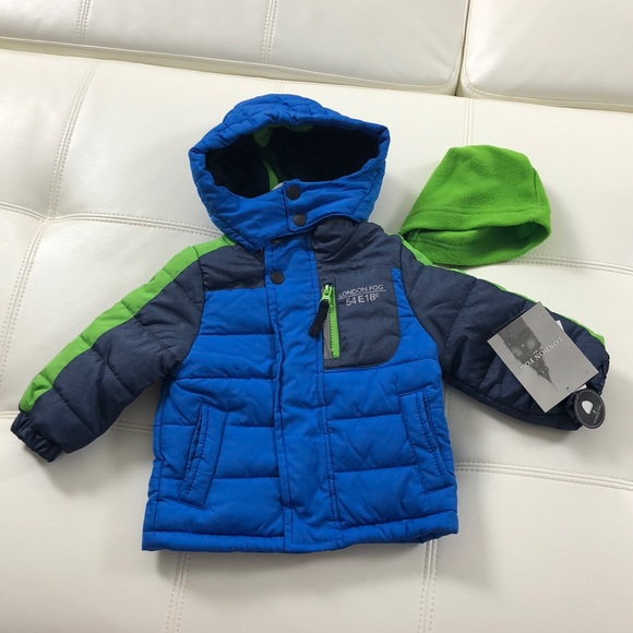 New Boy Ski Jacket Snow Winter Coat Toddler Baby Kids Size NWT 12M 18M